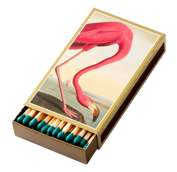 Audubon Flamingo Match Box