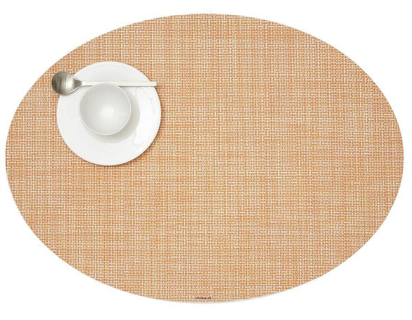 Oval Placemat, Cantaloupe
