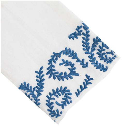 Chelsea Tip Towel, China Blue