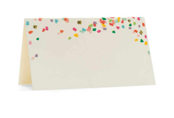 Karen Adams Confetti Place Card