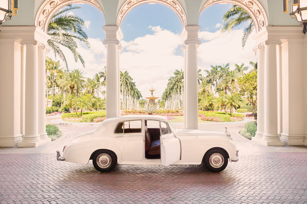 "Gray Malin 1961 Rolls Royce, 24"" x 36"""