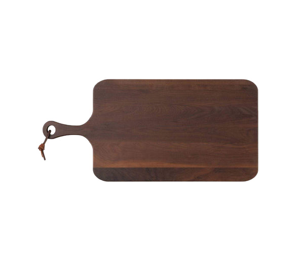 Edmund Natural Walnut Wood Serving Board, Medium