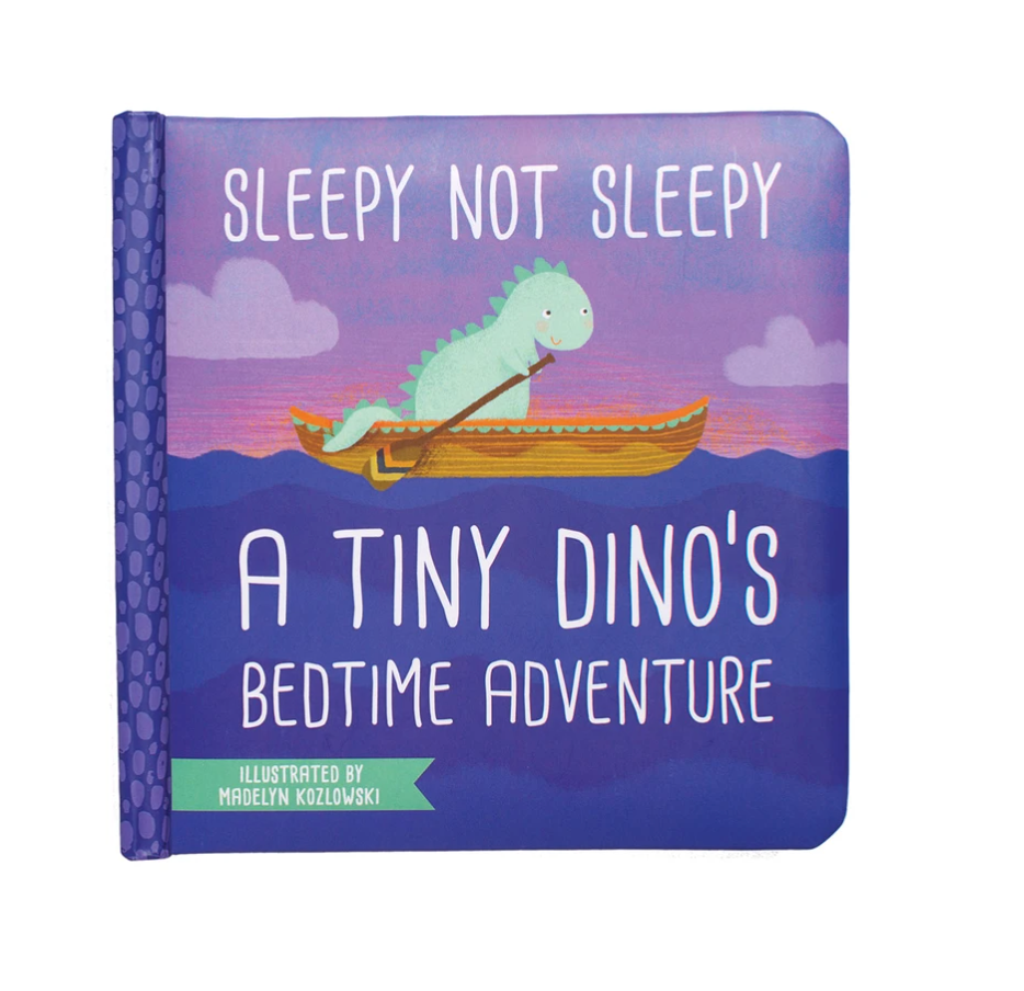 Sleepy Not Sleepy - A Tiny Dino's Bedtime Adventur