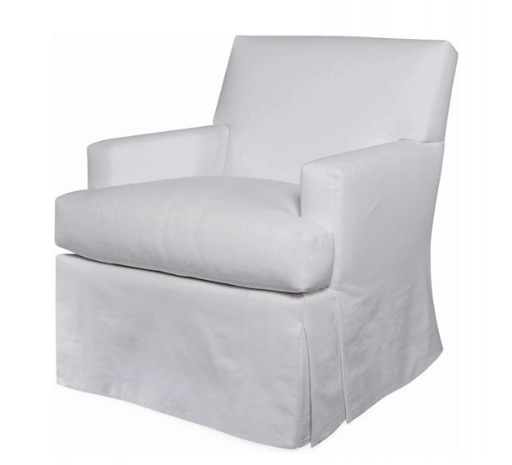 Swivel Glider in Crypton Pendleton Snow