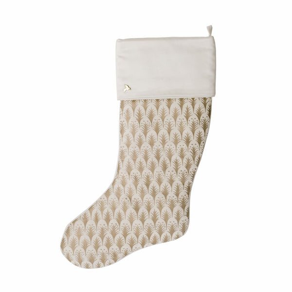 fortuny piumette stocking with cuff