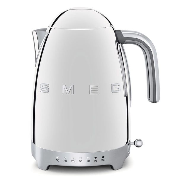 SMEG Variable Temperature Kettle, Chrome