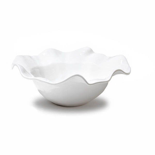 Vida Havana Medium Melamine Bowl, White