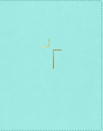 NIV Jesus Bible Leathersoft Teal