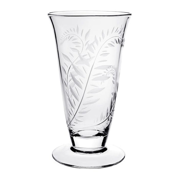 William Yeoward Crystal Jasmine Footed Flower Vase, 11""