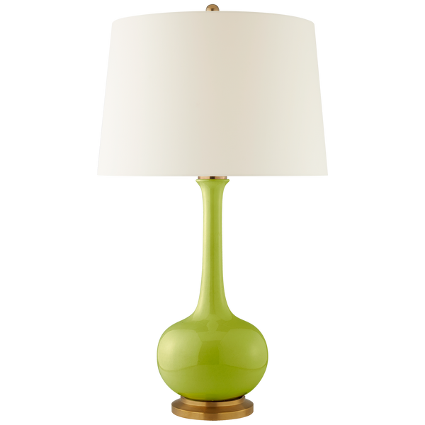 Coy Large Table Lamp in Lime
