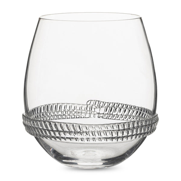 Juliska Dean Stemless Wine Glass