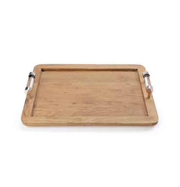 Tysinger Wood Tray, Acrylic Handle