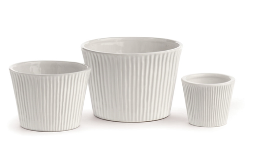 sinclair cachepot white, medium