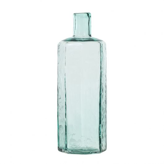 Botanic Glass Bottle, Lt.Green, Medium