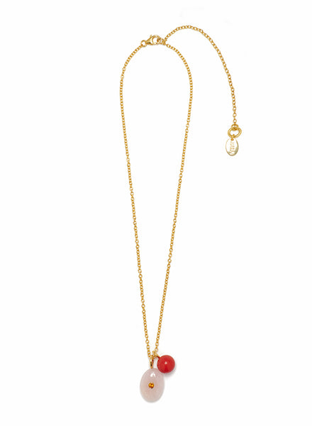 Lizzie Fortunato Strawberry Oasis Necklace