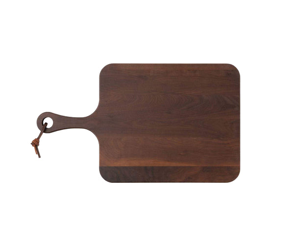 Edmund Natural Walnut Wood Serving Board, Small