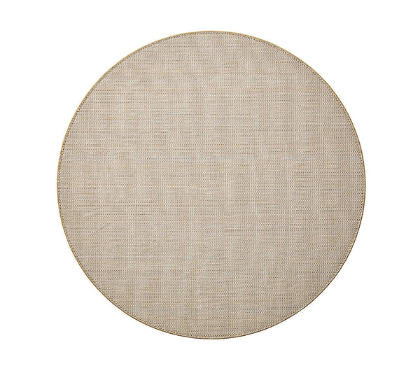 Capri Round Placemat, Natural