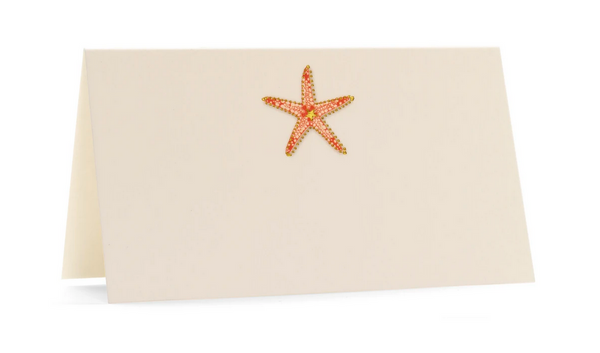 Karen Adams Place Card Sea Star