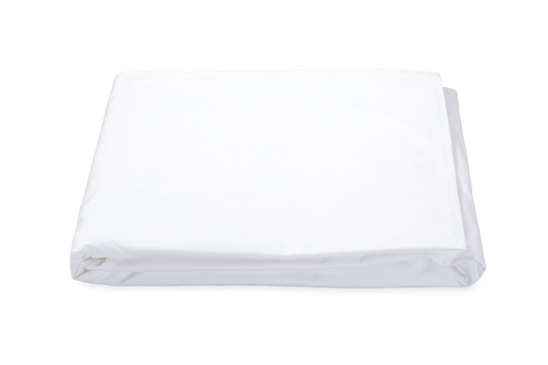 Matouk Ceylon Fitted Sheet - White