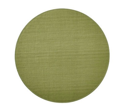 Provence Round Placemat, Green