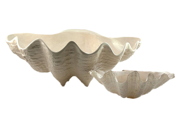 Clam Bowl in Pearl, Large