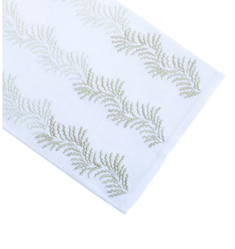 Fern Dance Tip Towel, Green