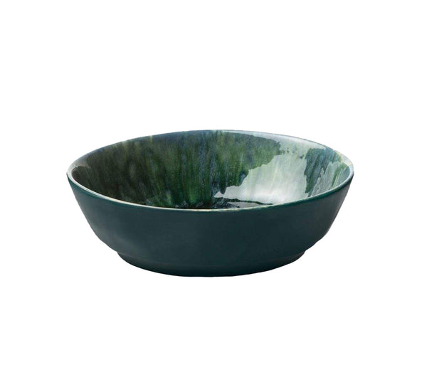 Bria Teal Reactive Pasta/Soup Bowl