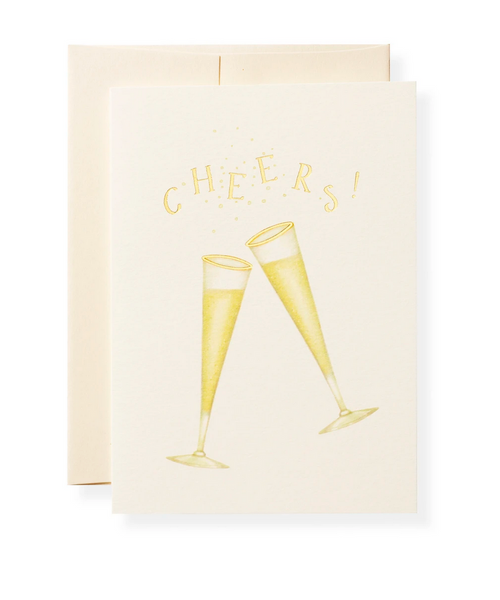 Karen Adams Greeting Card - Congrats, Tipsy