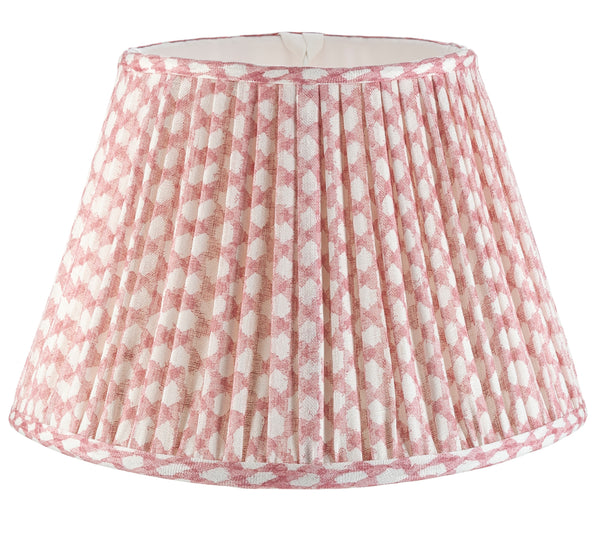 Fermoie Wicker Lamp Shade in Pink