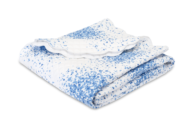 Matouk Poppy Azure Bedding Collection