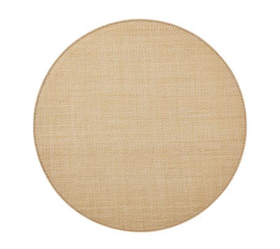 Provence Round Placemat, Natural