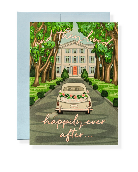 Karen Adams Greeting Card - Wedding, Ever After