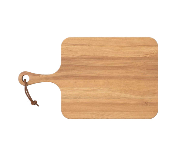 Edmund Natural Oak Wood Serving Board, Small