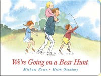 We're Going on a Bear Hunt, Board Book
