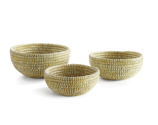Rivergrass Low Basket, Small