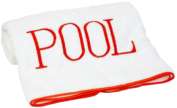 Pool Towel - Melon