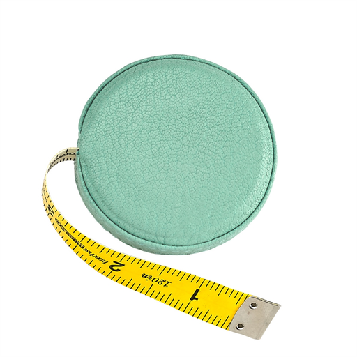 Graphic Image Leather Tape Measure, Robin's Egg Blue