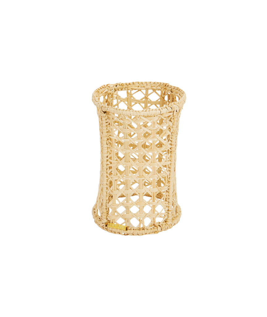 Raffia Votive Holder, Medium