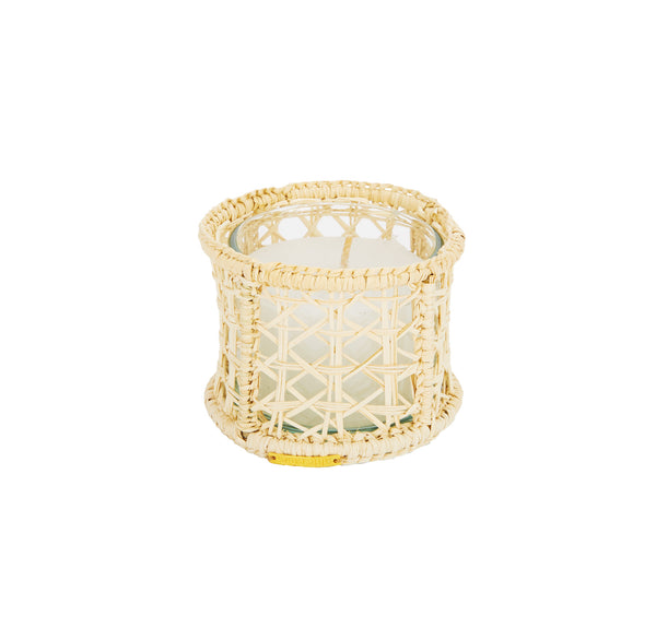 Raffia Votive Holder, Small