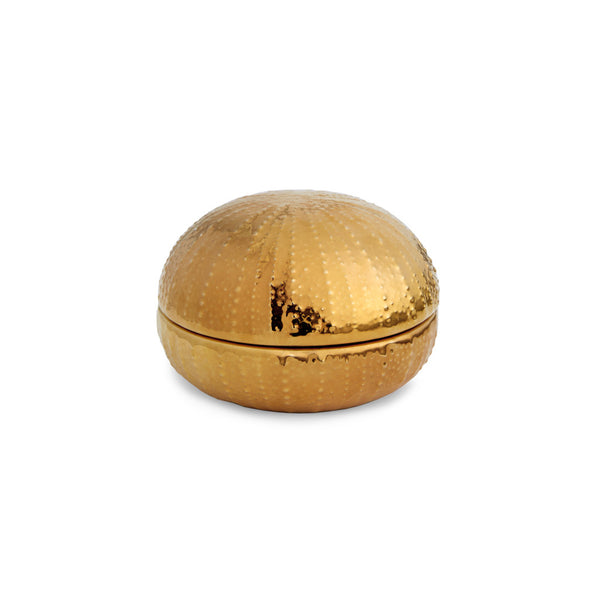 AERIN Gold Sea Urchin Box, Medium