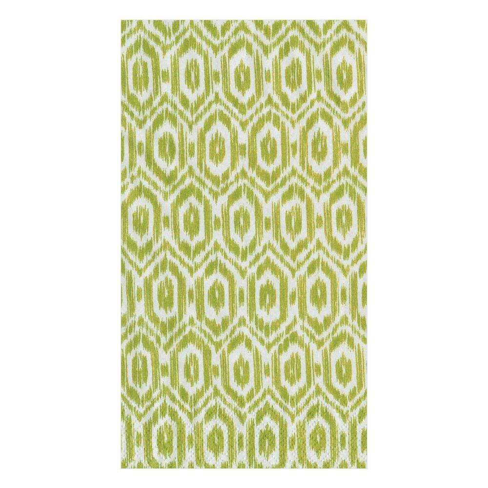 Amala Ikat Green, Guest Towels