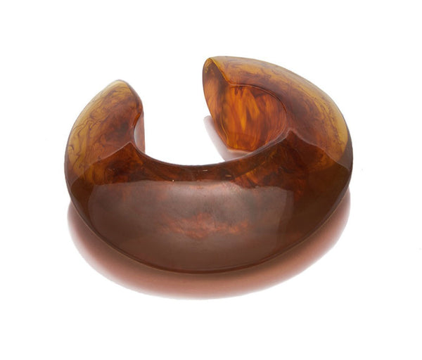 Lizzie Fortunato Arc Cuff in Tortoise