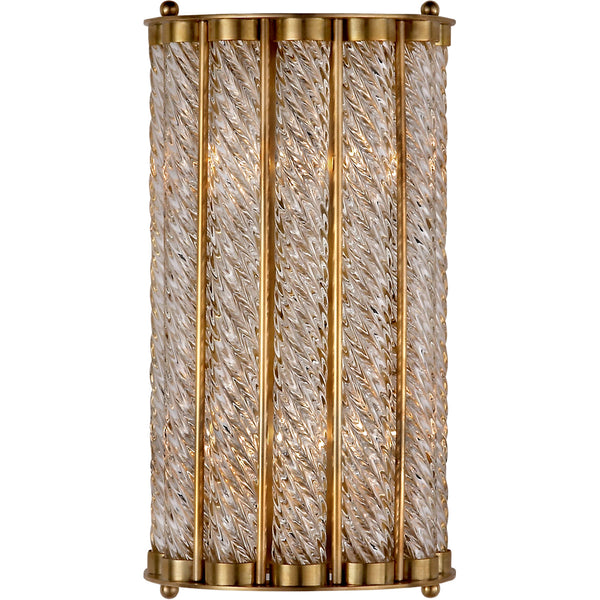 Eaton Sconce, Antique Brass