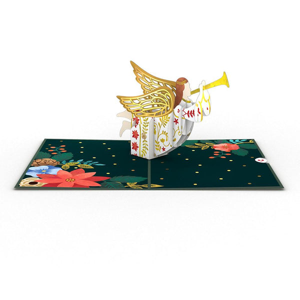 Pop Up Card, Holiday Angel