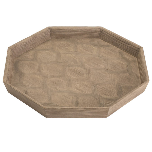 Parqueti Tray, Larch