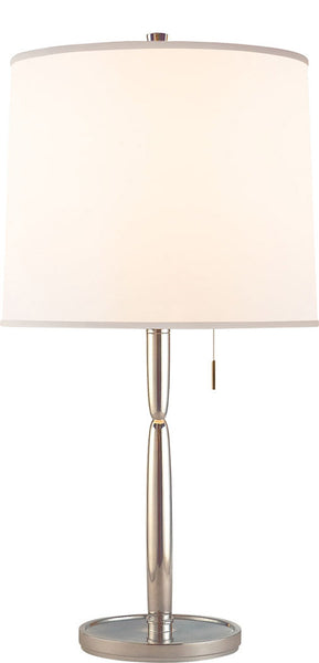 Figure Table Lamp, Soft Silver