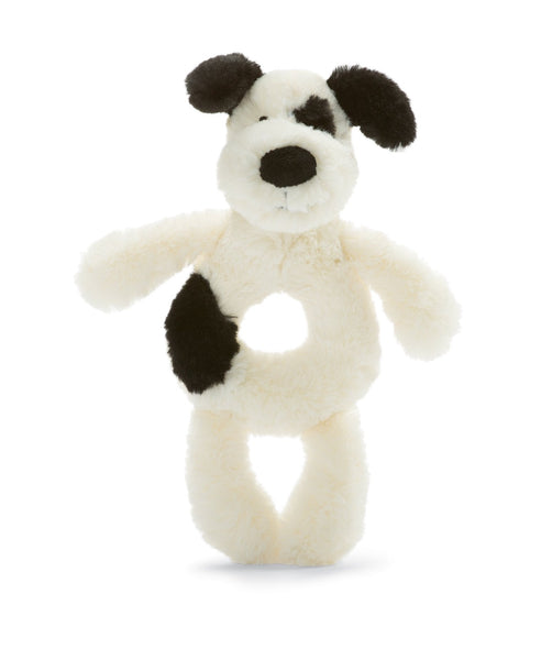 Jellycat Bashful B&C Puppy Ring Rattle