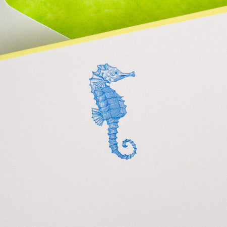 Seahorse Notecards