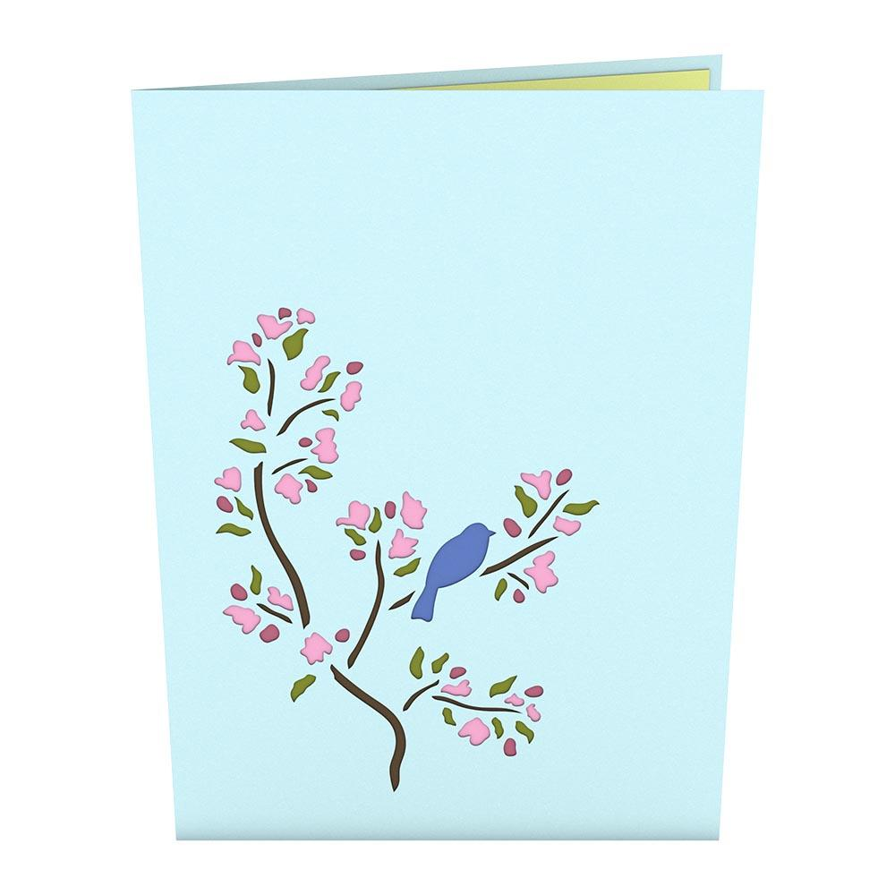 Pop Up Card, Bluebird