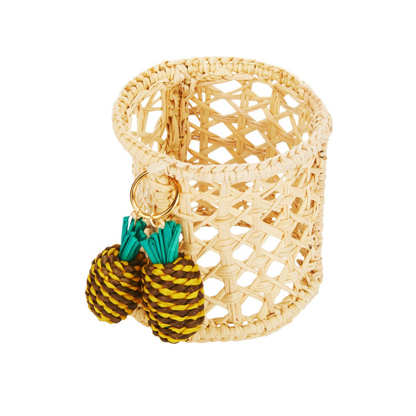 Raffia Pineapple Napkin Ring